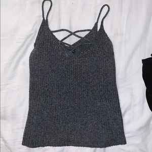 American Eagle Fitted Tanktop (Size: Small)
